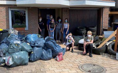 KJH Sammeln Müll
